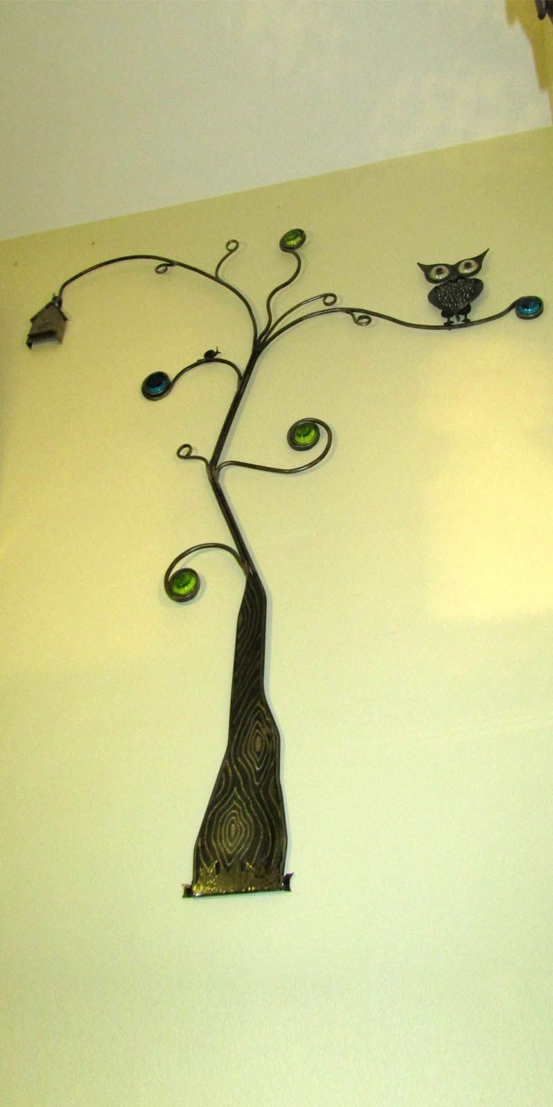 Árbol Búho vertical