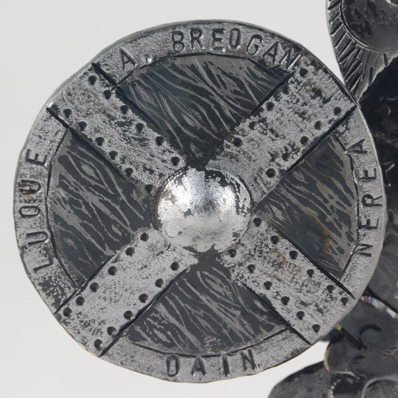 3.escudo vikingo forja