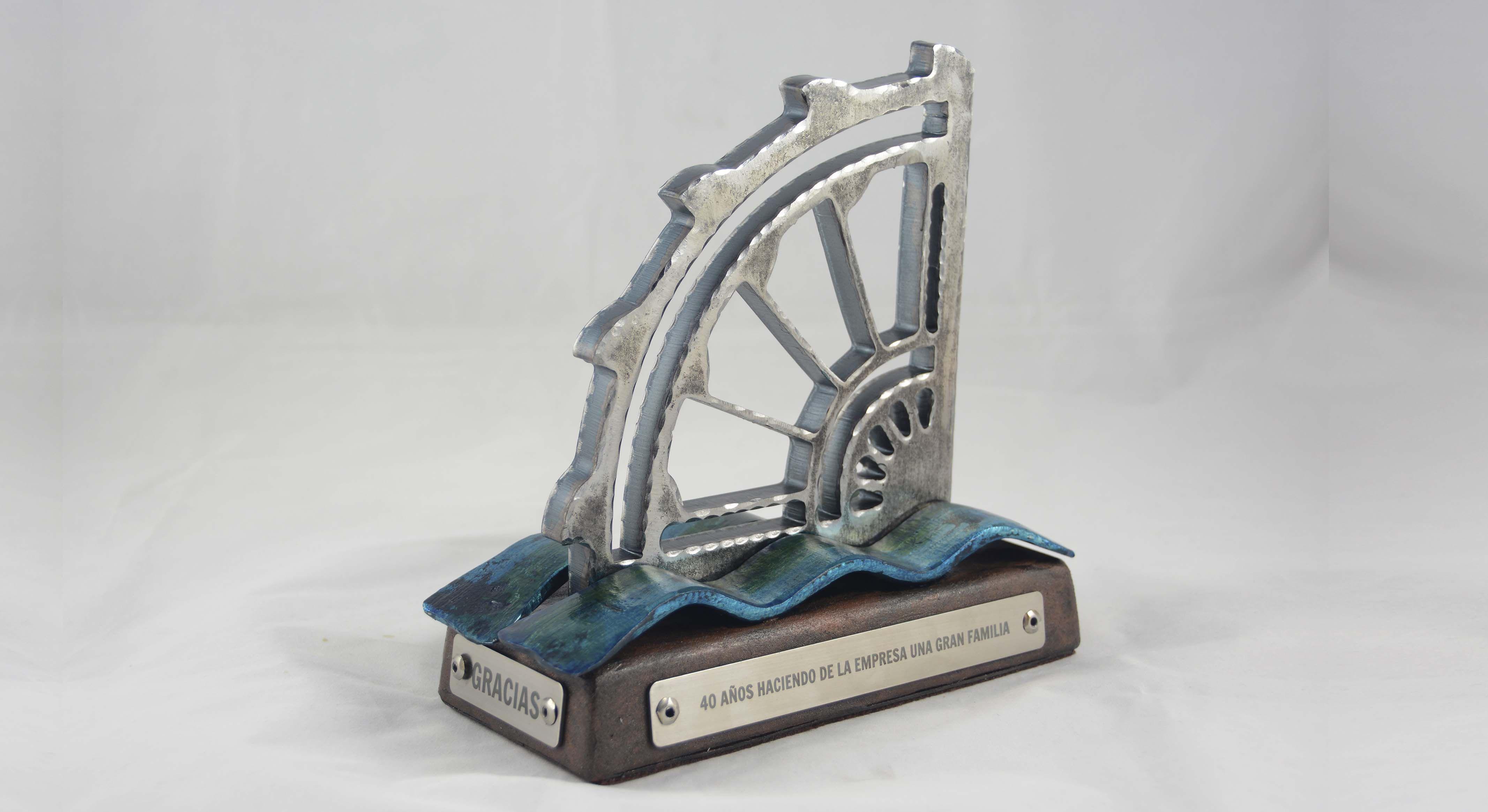 2.noria agua escultura