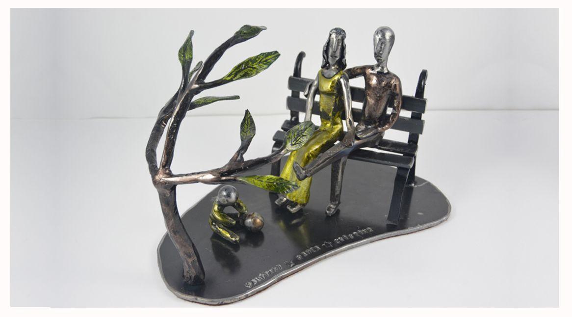Escultura en hierro personalizada
