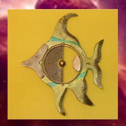 pez de hierro forjado