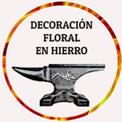 5.DECORACIÓN FLORAL EN HIERRO