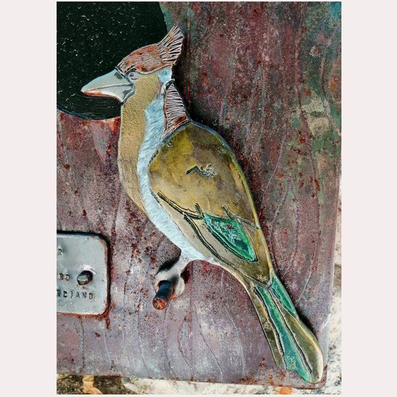 Buzón personalizado casa de pájaro 3