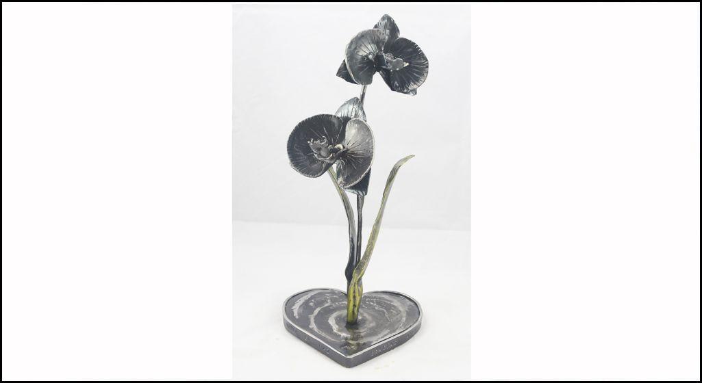 orquídeas en hierro forjado 1