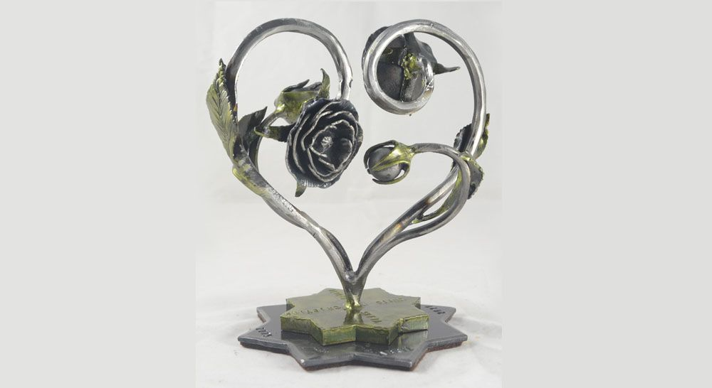 Regalo romántico bodas de hierro 2