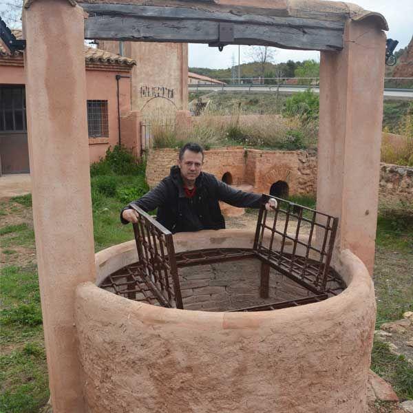 Reja protección pozo alfares Gorriz 2